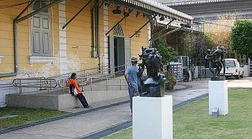La National Art Gallery di Bangkok.