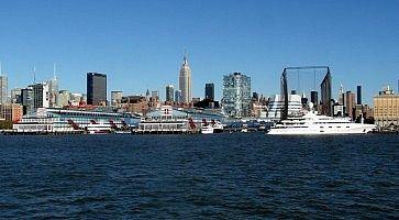 La zona del porto Chelsea Piers.