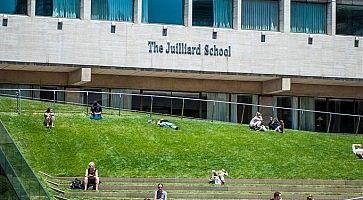 L'ingresso della Julliard School.