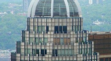 La cupola del Cityspire Center.