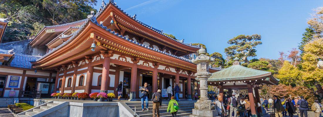 Il tempio Hasedera di Kamakura.