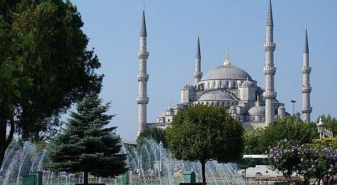 La Moschea Blu di Istanbul.
