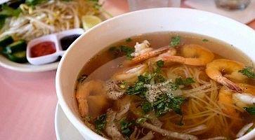 Tipico cibo vietnamita.