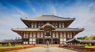 Il tempio Todai-ji di Nara.