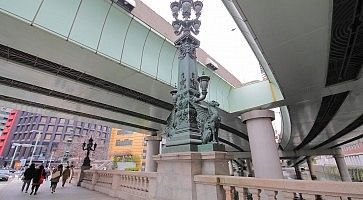 Il ponte Nihonbashi a Tokyo.
