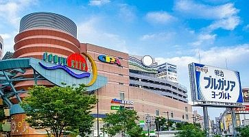 Fukuoka, Japan - June 29, 2014: Canal City Hakata is a large shopping and entertainment complex in Fukuoka, Japan.