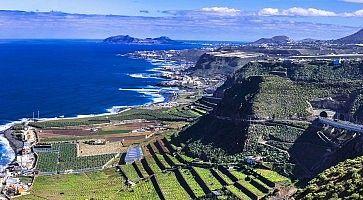 Gran Canaria island - panoramic view
