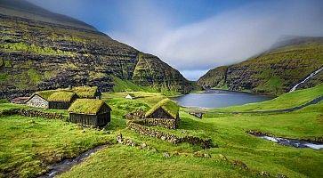 Village of Saksun, Faroe Islands, Denmark