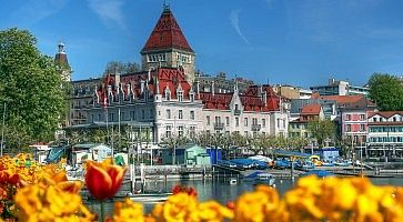 Chateau d'Ouchy 07, Lausanne, Switzerland