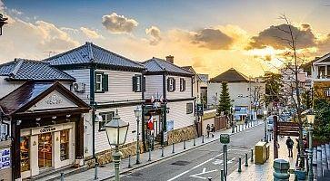 Kitano, Kobe, Japan Cityscape