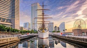 Yokohama, Japan Harbor