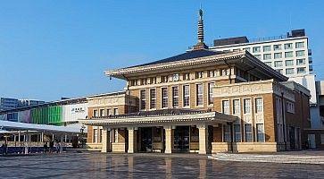 La stazione di Nara.