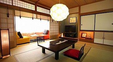Stanza tradizionale al Ryokan Oyado Koto no yume di Takayama.