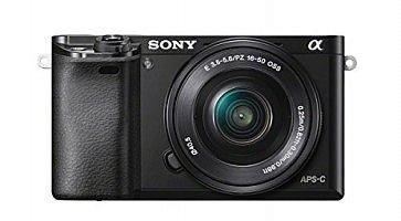 Fotocamera mirrorless Sony.