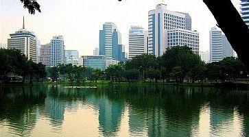 Il paroc Lumpini di Bangkok.