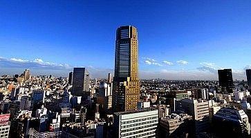 Il Cerulean Tower Tokyu Hotel, a Shibuya.