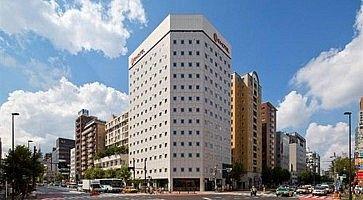 L'E Hotel ad Higashi Shinjuku.