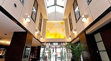 Lounge all'hotel Gran Fresa di Akasaka.