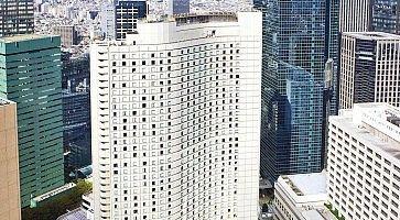 L'Hilton Hotel di Shinjuku.