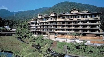 L'hotel Kajikaso ad Hakone.
