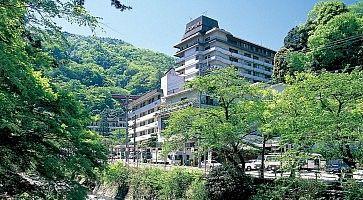 L'hotel Okada di Hakone.