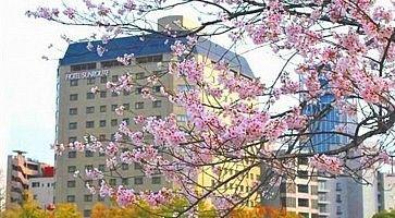 Il Sunroute Hotel di Hiroshima.