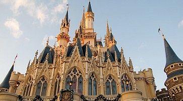 Il castello di Tokyo Disneyland.