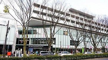 Il centro commerciale Omotesando Hills.